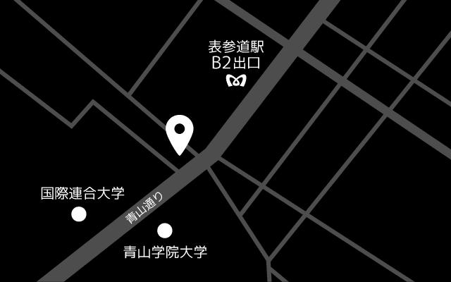 地図|Yogibo Store 青山店