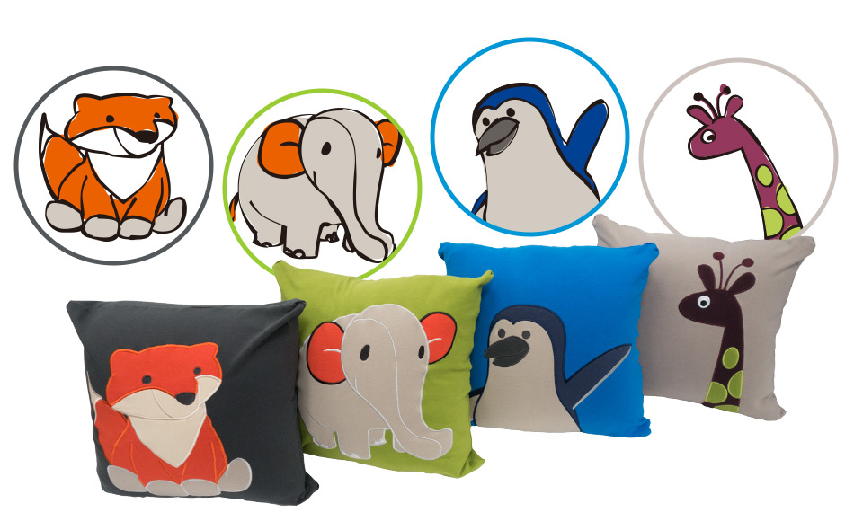 Yogibo Animal Cushion