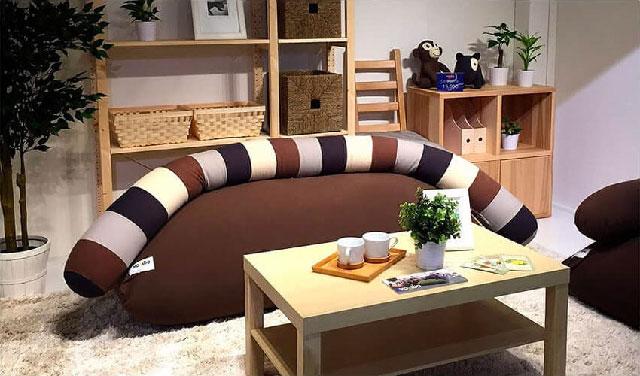 Yogibo Caterpillar Roll Long(ヨギボー キャタピラー ロール ロング)