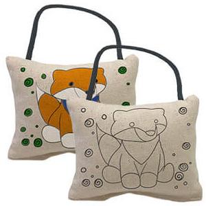 Yogibo Canvas Cushion Fox