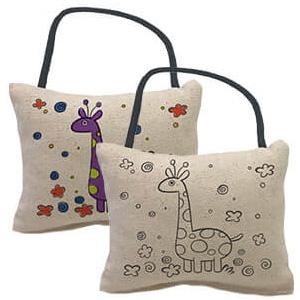 Yogibo Canvas Cushion Giraffe