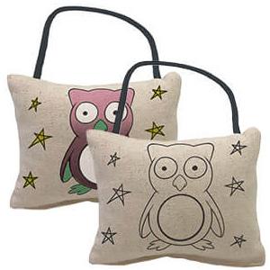 Yogibo Canvas Cushion Owl