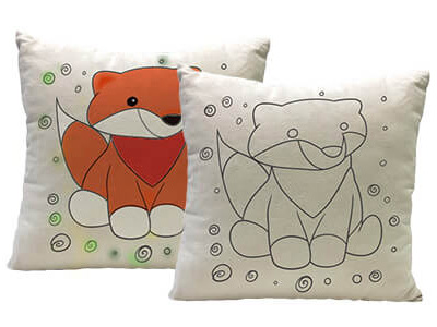 Yogibo Canvas Cushion Fox