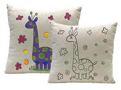 Yogibo Canvas Cushion Giraffe
