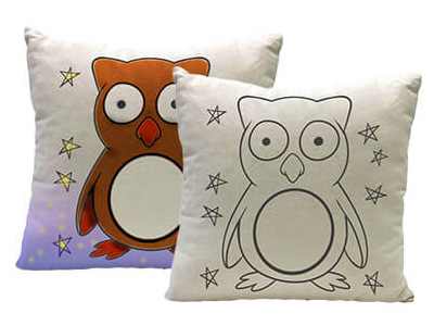 Yogibo Canvas Cushion Owl