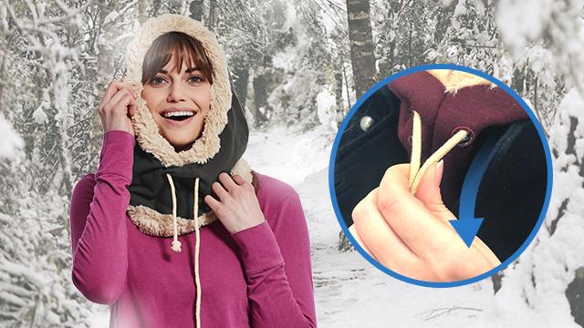 Hoodibo|あなたを寒さから守ってくれるフード付きスカーフ