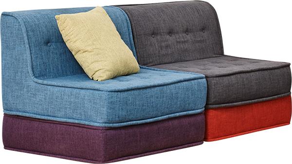 Yogibo Modju Square Pillow|ソファと合わせて高級感をプラス