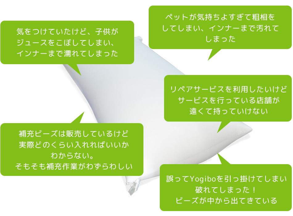 Yogibo Premiumをご愛用いただいているお客様の声にお応えして、Yogibo Premiumインナーが登場しました。