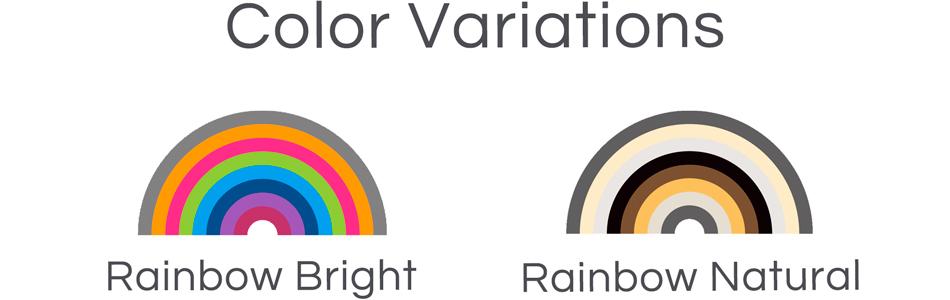 rainbow series|カラーバリエーション