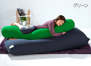 Yogibo Roll Max(ヨギボーロールマックス) グリーン