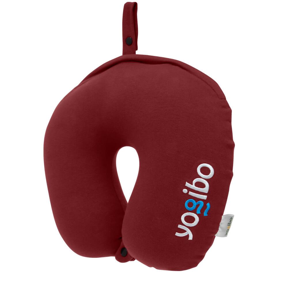 Yogibo Neck Pillow Logo(ヨギボー ネックピロー ロゴ) ワインレッド