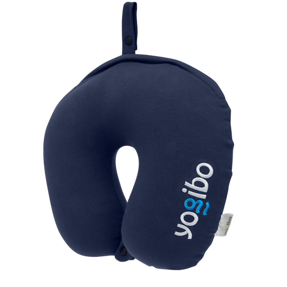 Yogibo Neck Pillow Logo(ヨギボー ネックピロー ロゴ) ネイビーブルー