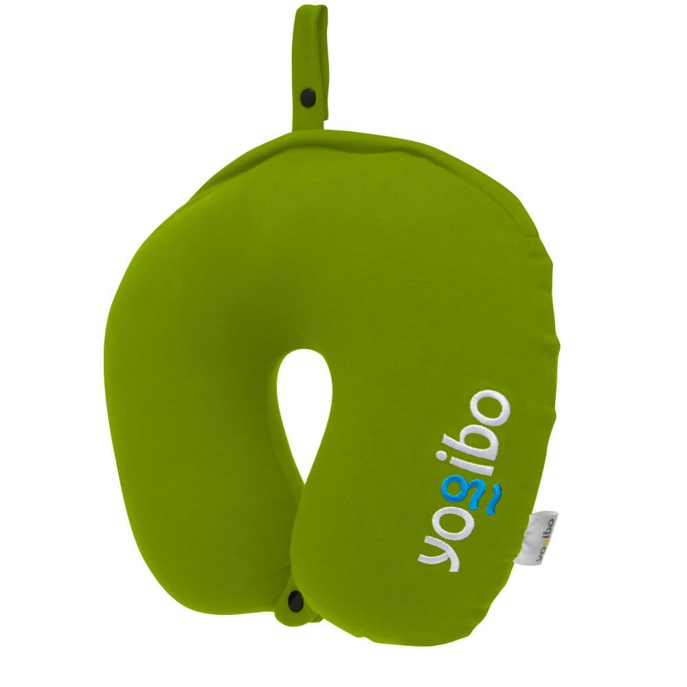 Yogibo Neck Pillow Logo(ヨギボー ネックピロー ロゴ) ライムグリーン
