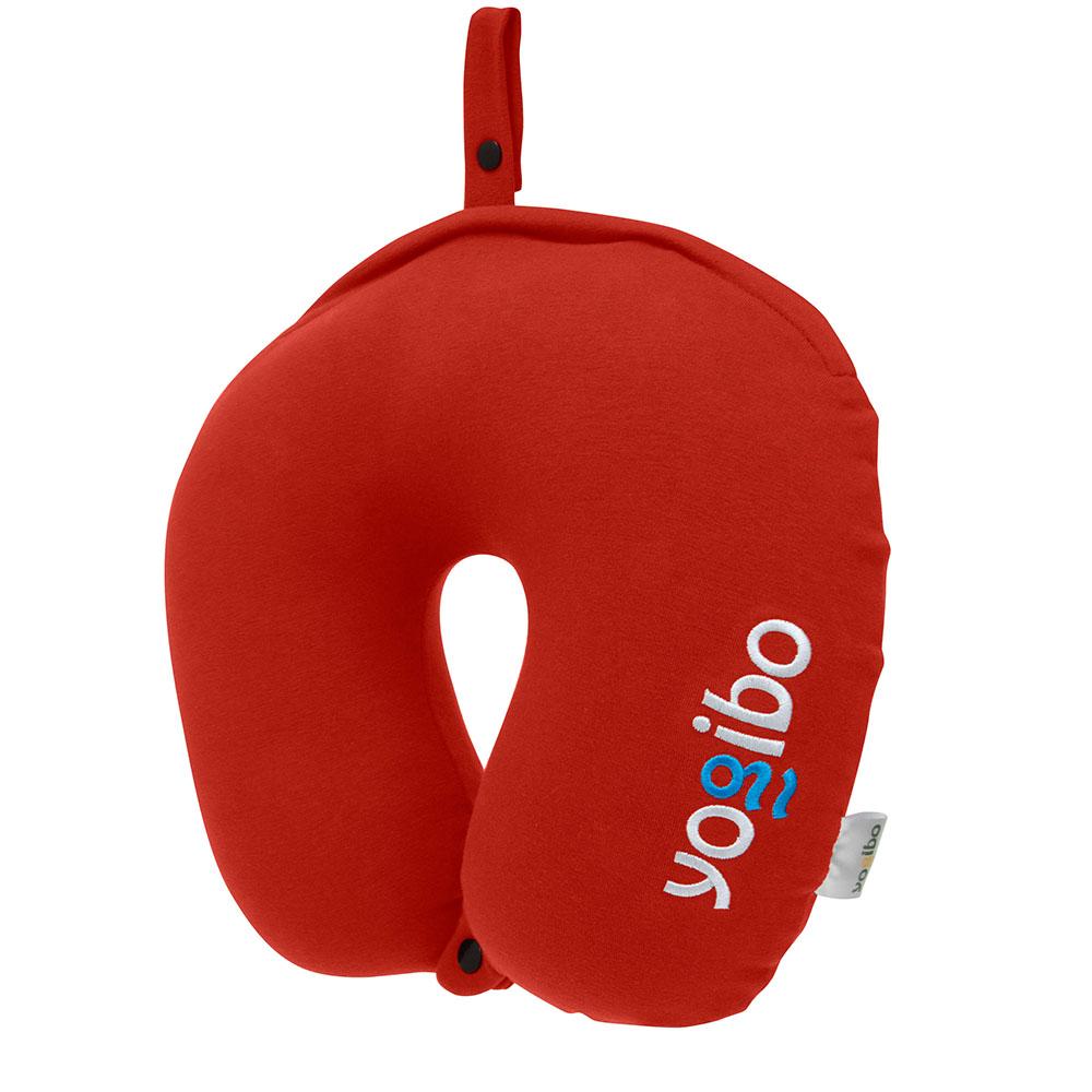 Yogibo Neck Pillow Logo(ヨギボー ネックピロー ロゴ) レッド