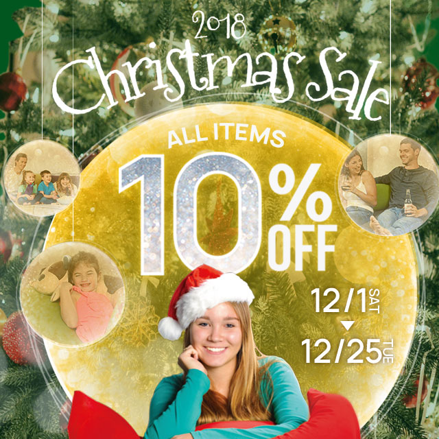 ALL ITEM 10%OFF|Christmas Sale 2018