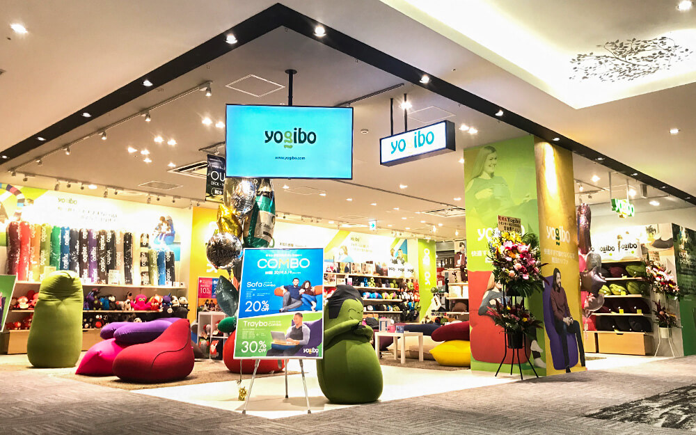 Yogib Store イオンモールKYOTO店