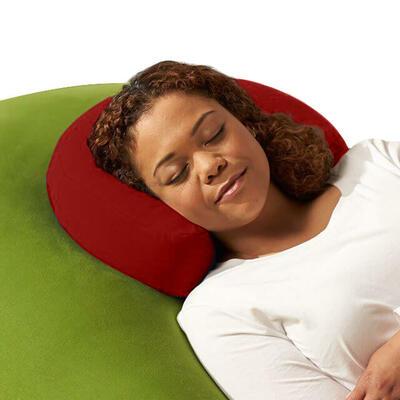 Yogibo Moon Pillow(ヨギボームーンピロー)ワインレッド