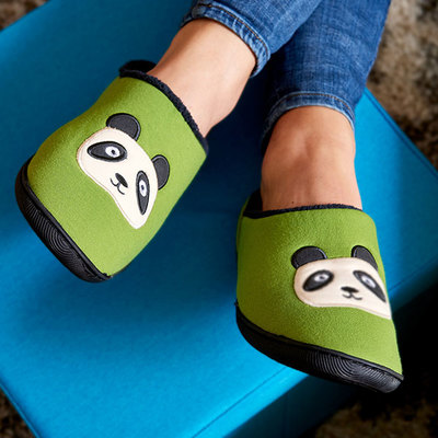 Yogibo Room Shoes Animal パンダ