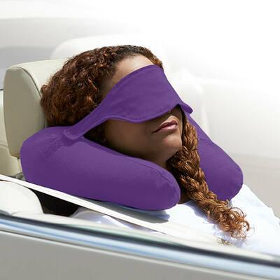 Yogibo Neck Pillow X(ヨギボーネックピローX)パープル