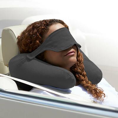 Yogibo Neck Pillow X(ヨギボーネックピローX)ダークグレー
