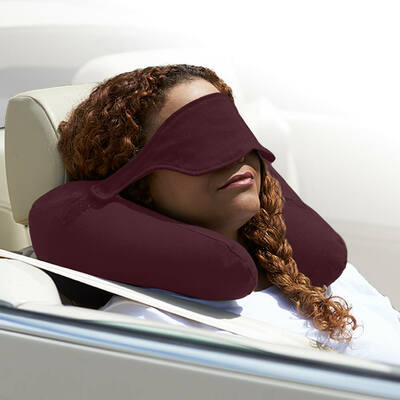 Yogibo Neck Pillow X(ヨギボーネックピローX)ディープパープル