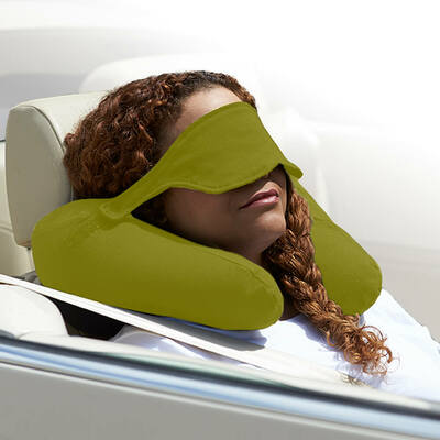 Yogibo Neck Pillow X(ヨギボーネックピローX)ライムグリーン