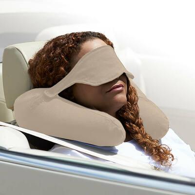 Yogibo Neck Pillow X(ヨギボーネックピローX)ライトグレー