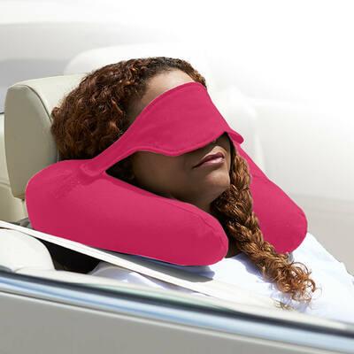 Yogibo Neck Pillow X(ヨギボーネックピローX)ピンク