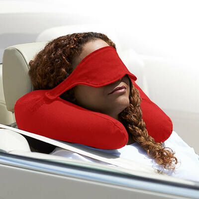 Yogibo Neck Pillow X(ヨギボーネックピローX)レッド