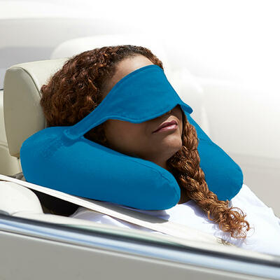 Yogibo Neck Pillow X(ヨギボーネックピローX)アクアブルー