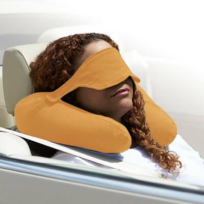 Yogibo Neck Pillow X(ヨギボーネックピローX)キャメル