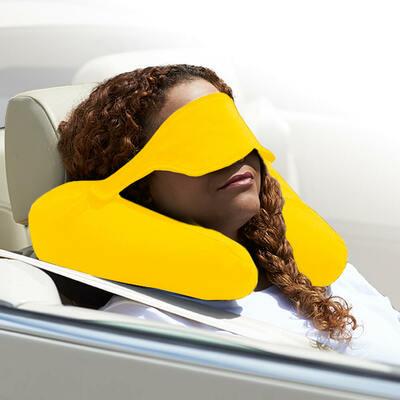 Yogibo Neck Pillow X(ヨギボーネックピローX)イエロー