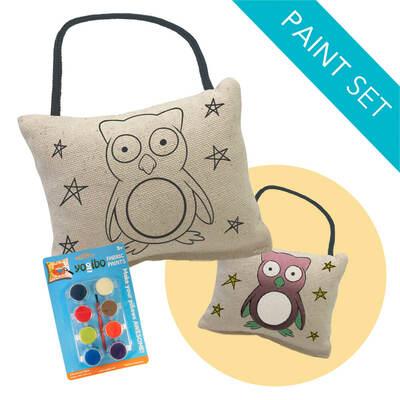Yogibo Canvas Cushion Mini & Paint Kit Set(ヨギボー キャンバス クッション ミニ & ペイント キット セット)