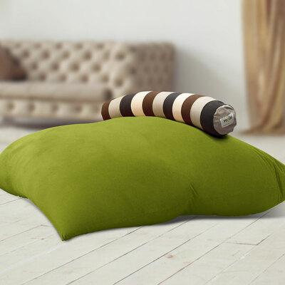 Roll Midi Combo(ロールミディコンボ)- Yogibo Double(ライムグリーン) & Caterpillar Roll Short(ナチュラル)