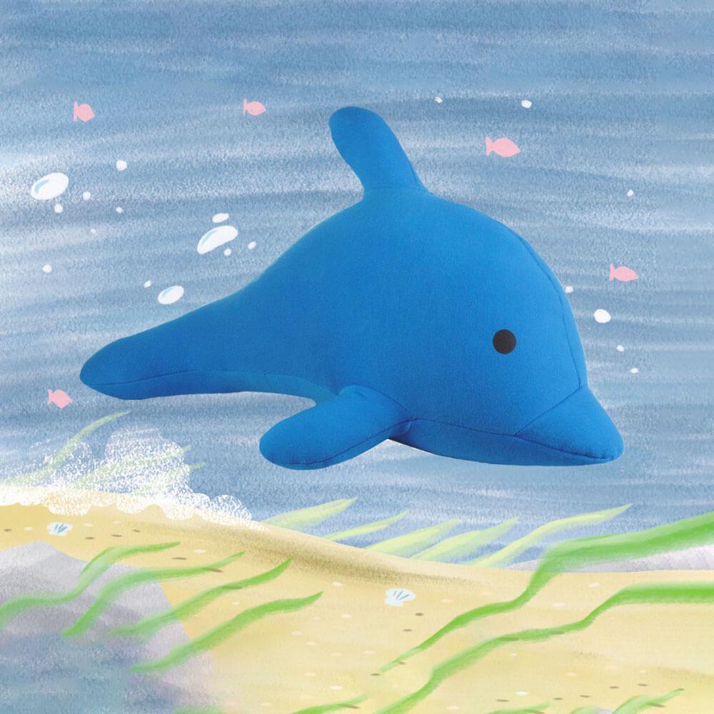 Yogibo Mate Dolphin(デリラ)【1~3営業日で出荷予定】