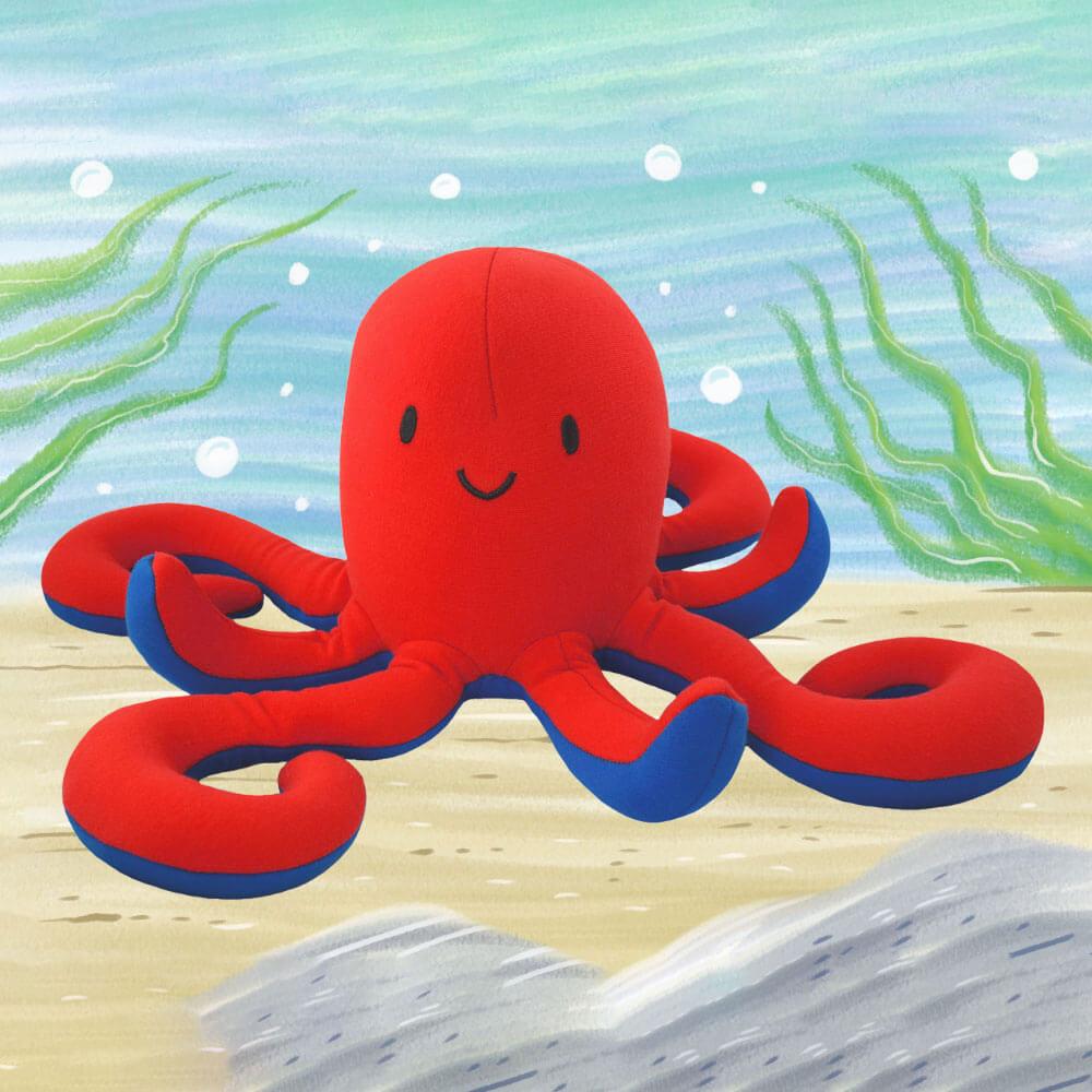 Yogibo Mate Octopus(オズワルド)【1~3営業日で出荷予定】