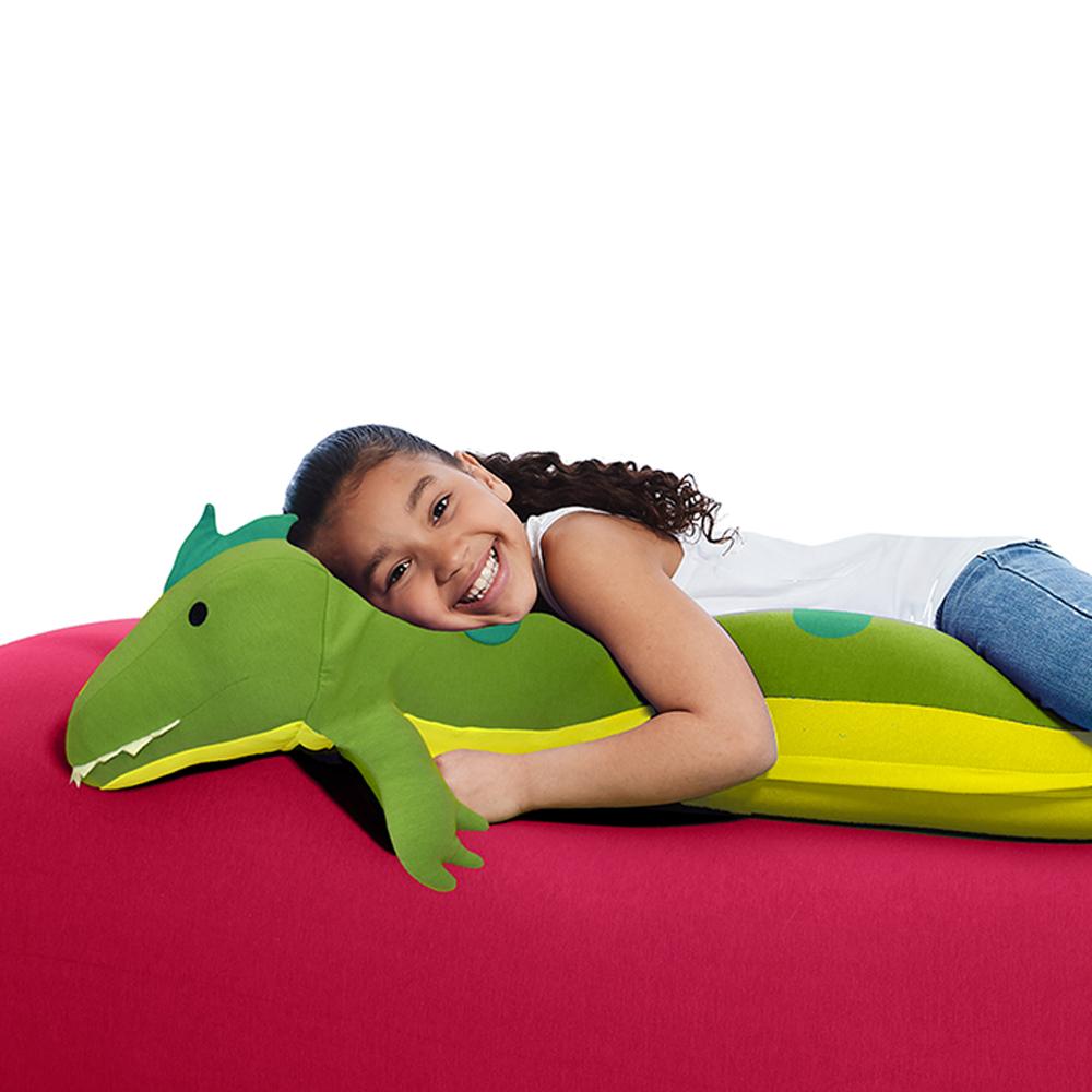 【予約|9月下旬入荷予定】Yogibo Roll Animal Alligator - ロール アニマル アリゲーター(アリー)